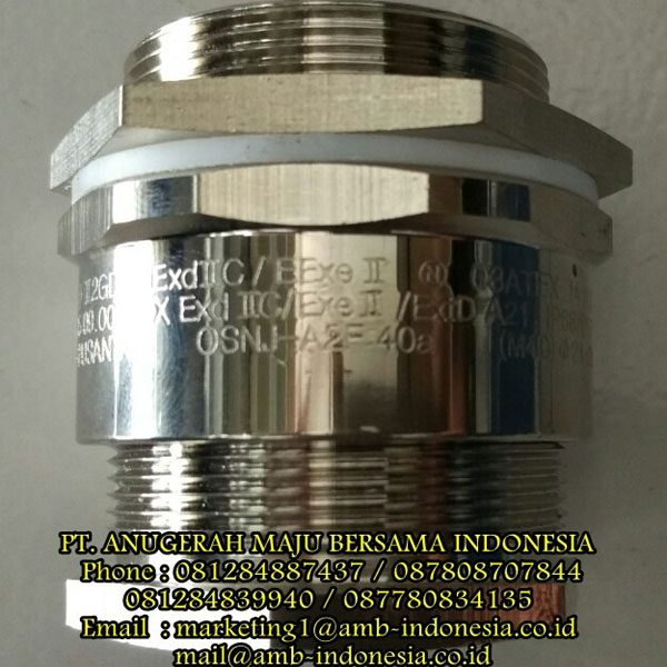 Cable Gland Non Armoured Explosion Proof