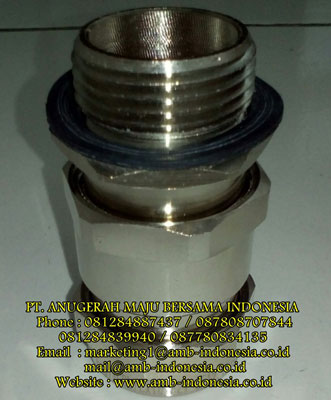 Cable Gland Armoured Explosion Proof Stainless Steel Metric