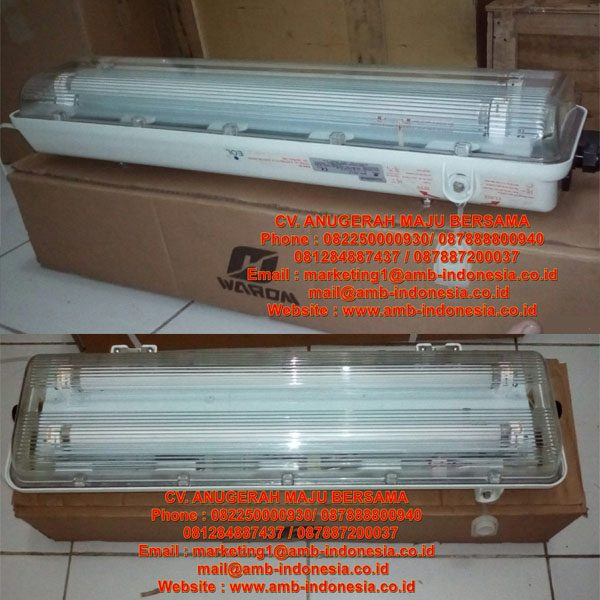 Lampu TL GRP Explosion Proof - Fluorescent Lamp GRP Warom Explosion Proof - HRLM BYS Fluorescent Lamp
