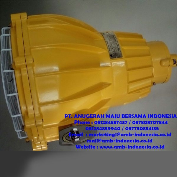 Lampu Sorot Explosion Proof - Lampu Tembak Explosion Proof - Floodlight Explosion Proof Warom BAT51 Jakarta Indonesia