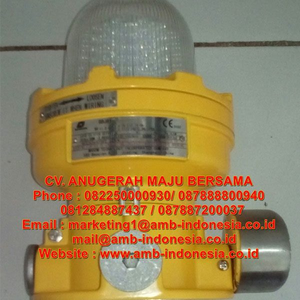 Lampu Strobo Warning Lighting Explosion Proof Warom BBJ81 Audio and Visual Caution Spotlight Jakarta Indonesia