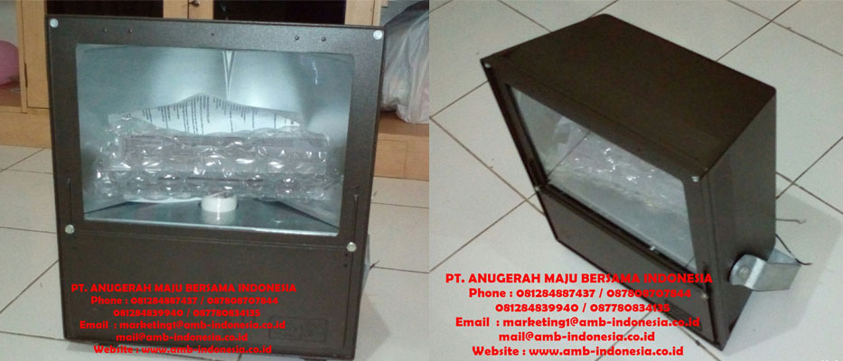 Lampu Sorot Explosion Proof Hubble Killark Floodlight MVH Series HPS 400W Jakarta Indonesia