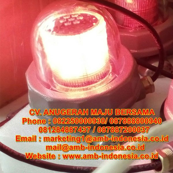 Lampu Led Strobo Warning Light Explosion Proof 10 Watt QINSUN BJD330 LED Ex-Proof Warning Lighting