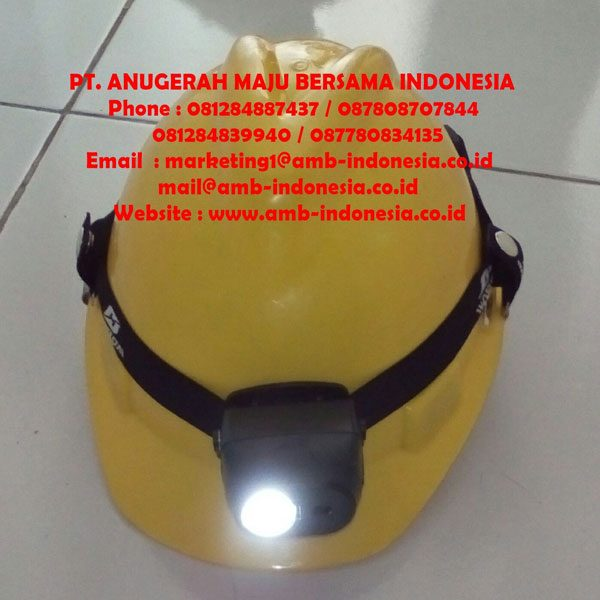 Lampu Senter Kepala Led Explosion Proof Rechargeable