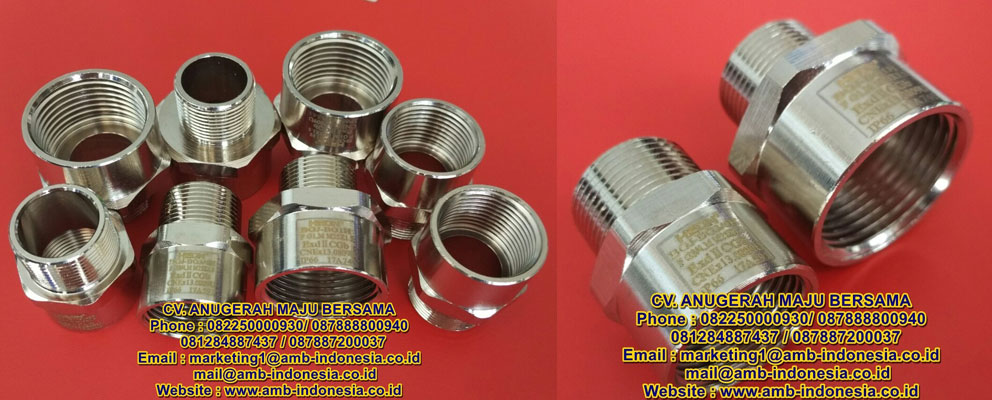 Connector Explosion Proof Stainless Steel