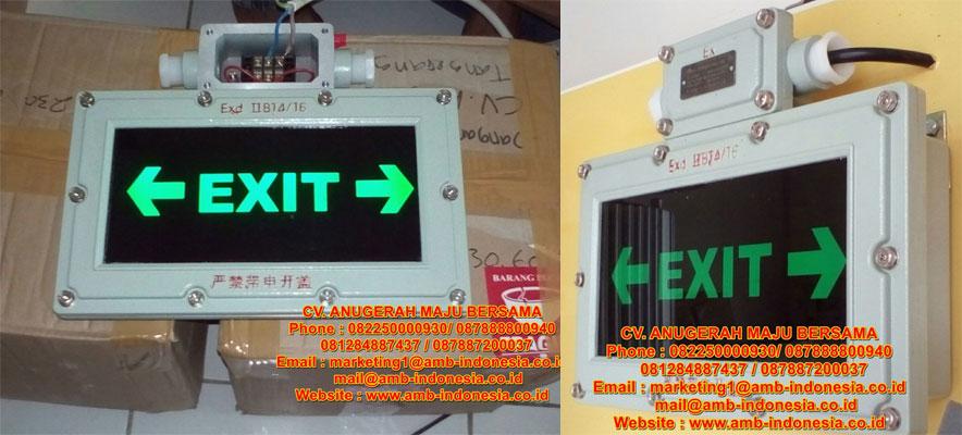 LED Emergency Exit Signal Lighting