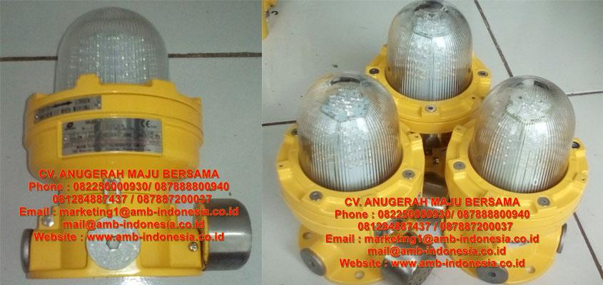 Warom BBJ81 Audio and Visual Caution Spotlight