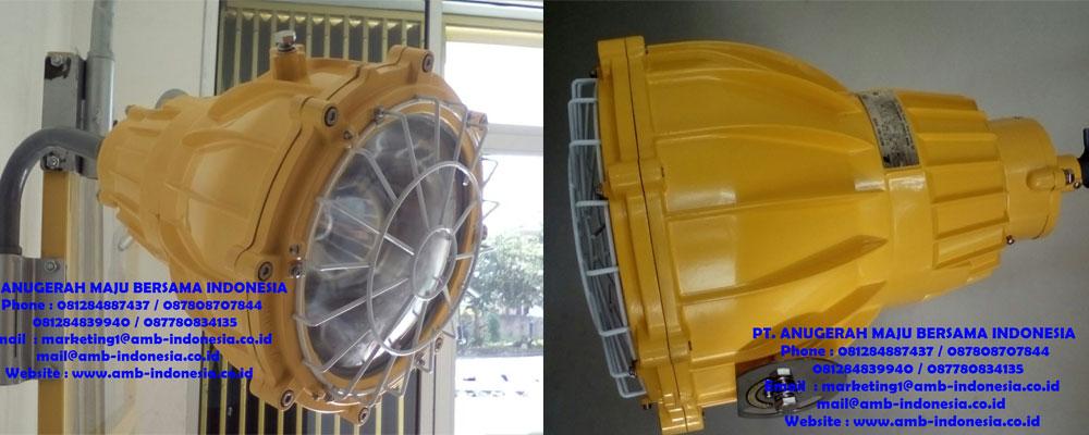Lampu Sorot Explosion Proof - Lampu Tembak Explosion Proof - Floodlight Explosion Proof Warom BAT51 Jakarta Indonesia