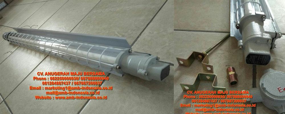 Lampu TL Explosion Proof HELON BAY51-Series Ex-Proof Fluorescent Lamp ( T5 Tube ) ( II B, DIP )