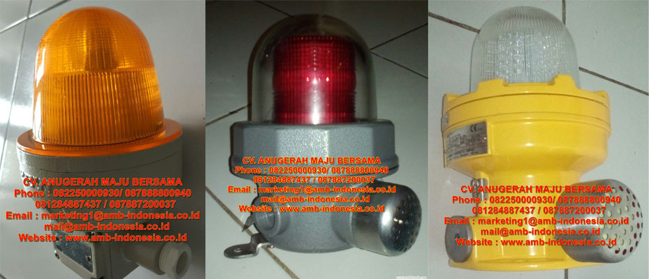 Lamp Strobo Warning Lighting Audio