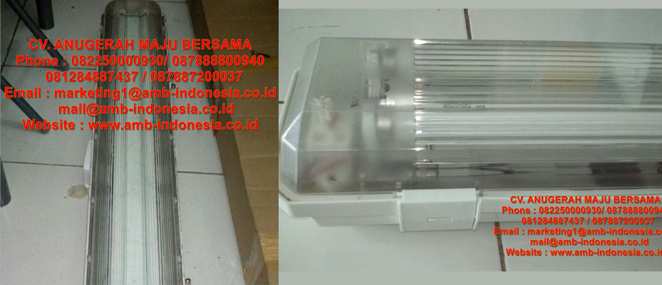 Lampu TL Explosion Proof GRP Polyester HRLM BYS Series Ex-ProofFluoirescent Lamp