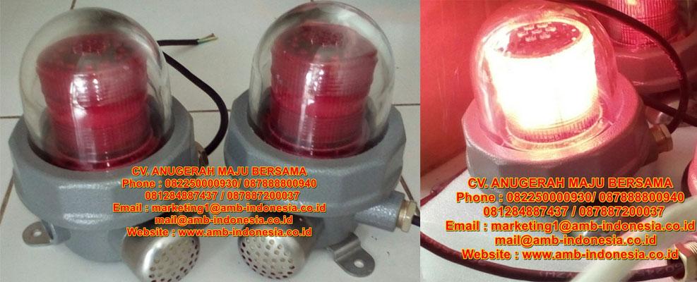 Lampu Led Strobo Warning Light Explosion Proof 10 Watt QINSUN BJD330 LED Ex-Proof Warning Lighting