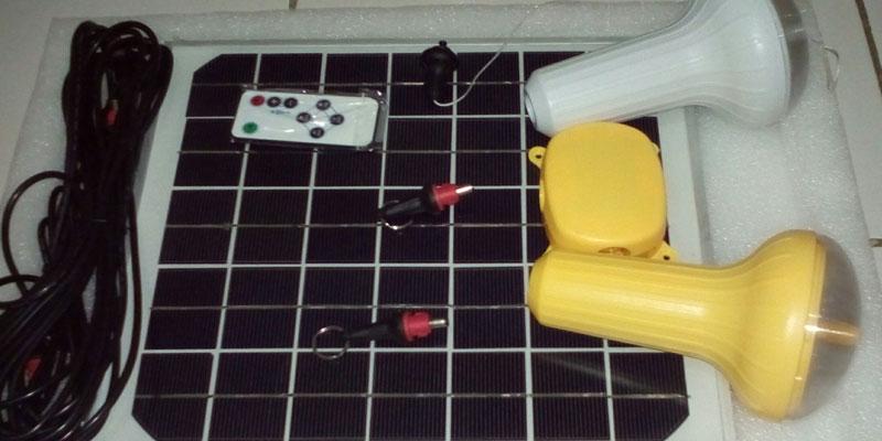 Lampu Tenaga Surya 5W 10W 15W QINSUN SLD70 LED Solar Cell Home