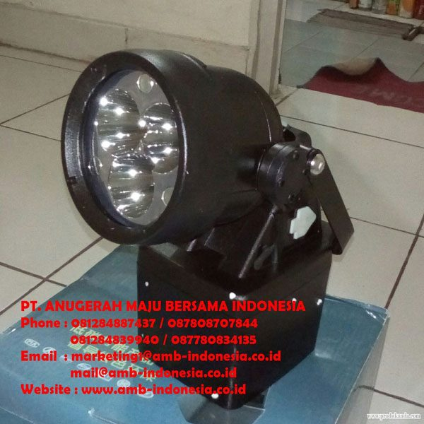 Lampu Senter Rechargeable 9 Watt QINSUN ELM6