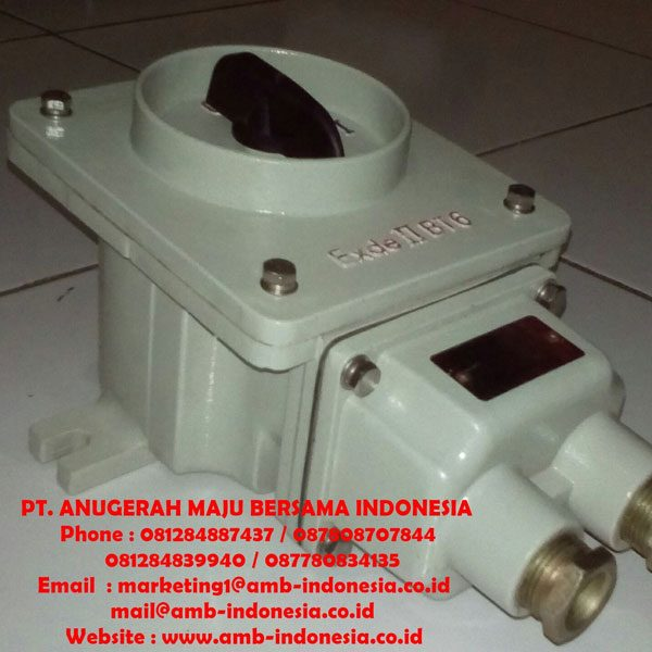 Rotary Switch Explosion Proof