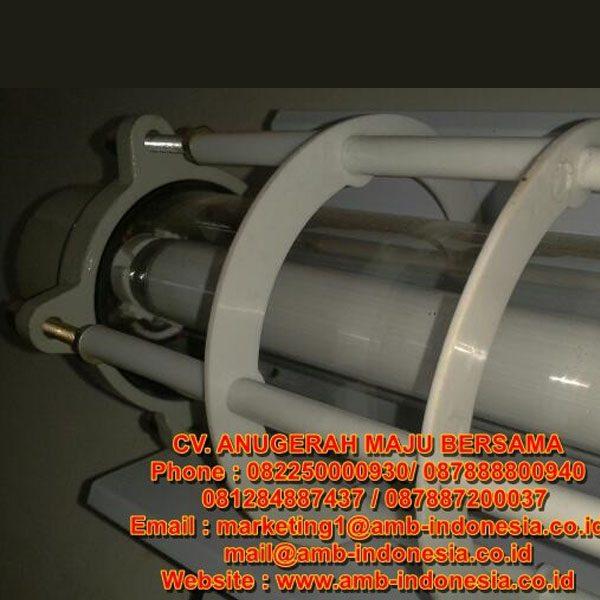 Lampu TL Explosion Proof Glass Alluminium 1x36W 2x18W 1x36W 2x36W HRLM BPY Flourescent Lamp