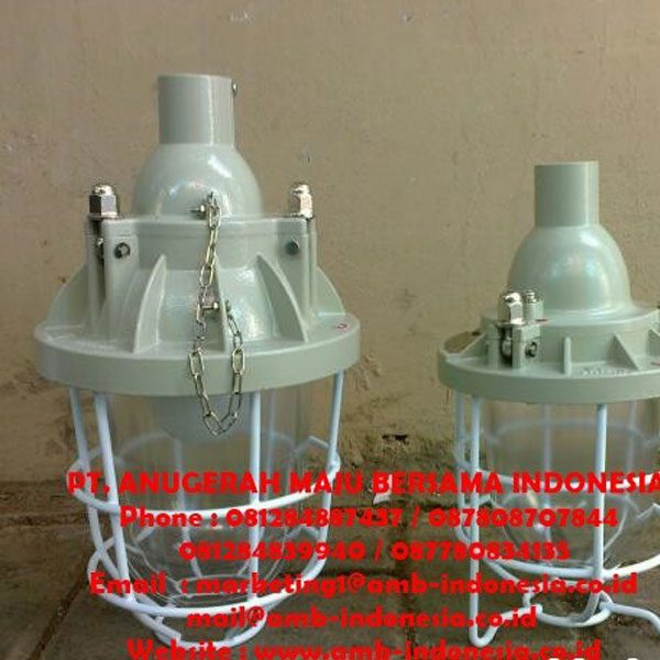 Lampu Gantung Explosion Proof 100W 200W 250W 400W Warom - HRLM BCD Series Pendant Lamp Jakarta Indonesia