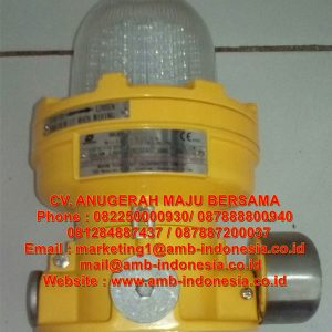 Lampu Strobo Warning Lighting Explosion Proof Warom BBJ81 Audio and Visual Caution Spotlight Jakarta Indonesia