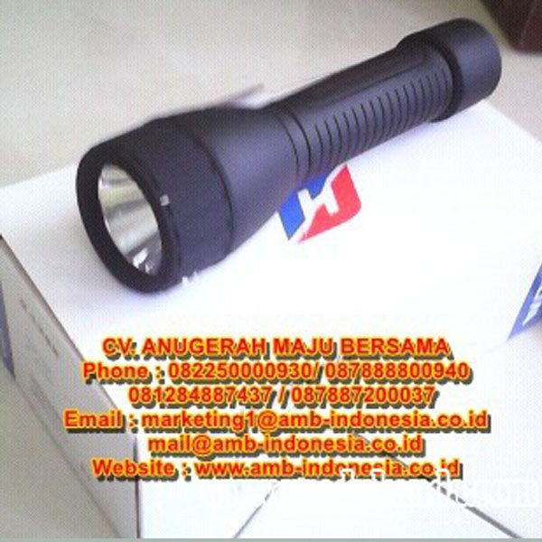 Lampu Senter Led Explosion Proof Rechargeable Warom BAD 206 LED Torch Lamp Lighting