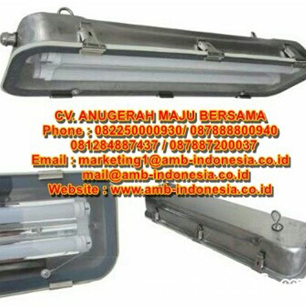 INDUSTRIAL AREA QINSUN GLD280S SERIES STAINLESS STEEL LED LINEAR LIGHTING WEATHER PROOF Jakarta Indonesia
