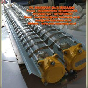 Lampu TL Explosion Proof Glass Alluminium 1x18W 1x36W 2x18W 2x36W Warom BAY52 Flourescent Lamp